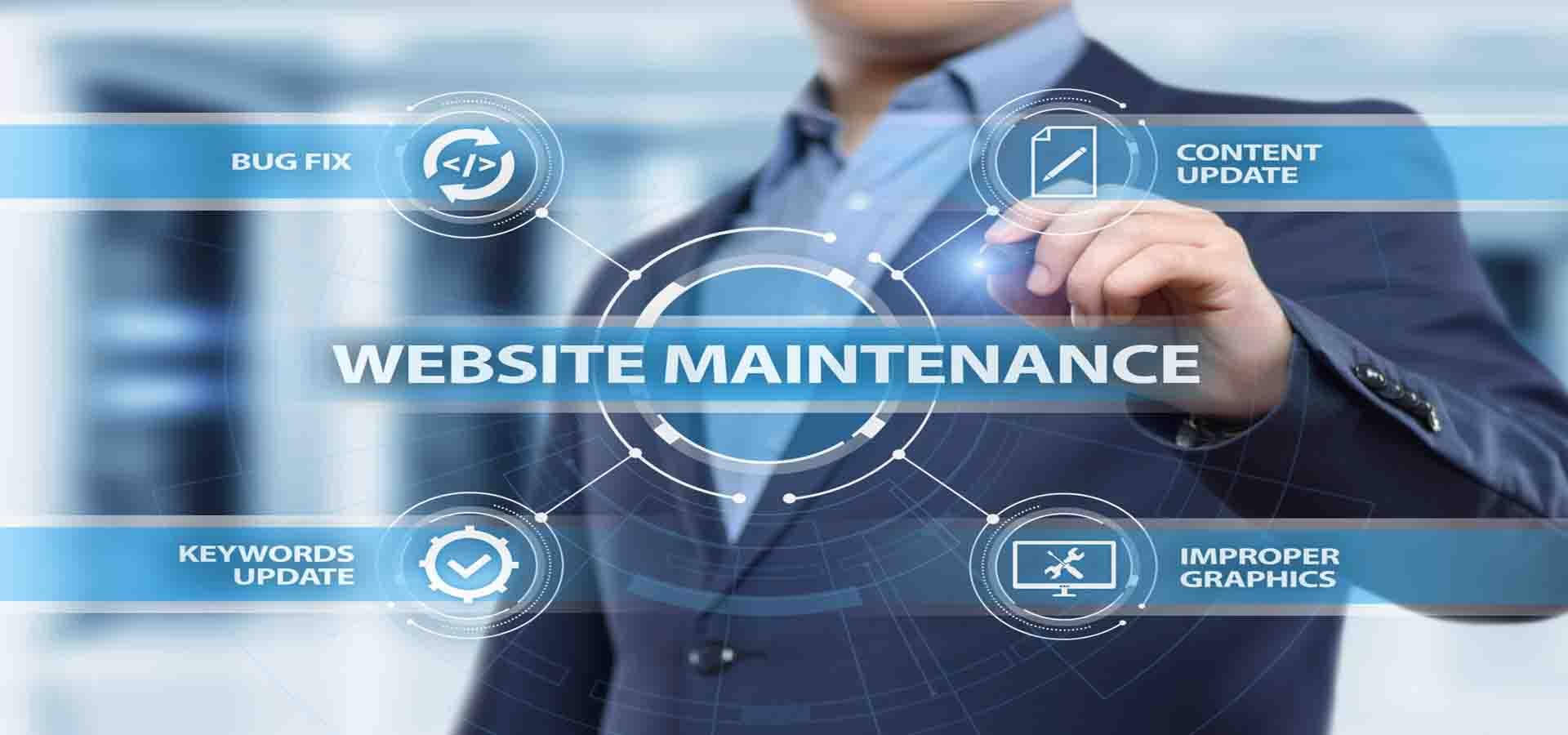 Website Maintenance (Kashmir eServices)
